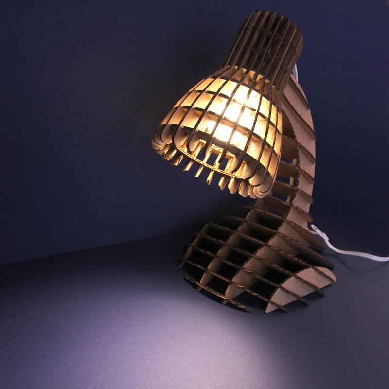 Lampka z kartonu, dlaczego nie-5