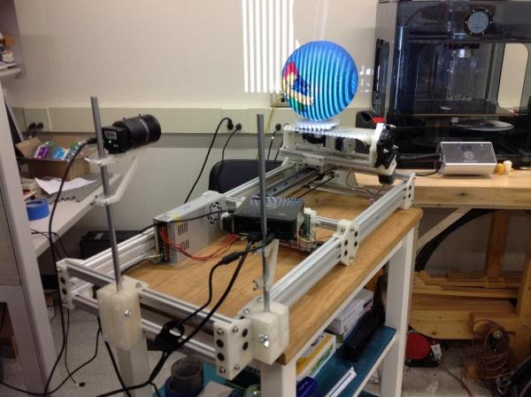 Pierwszy open source skaner 3D-1