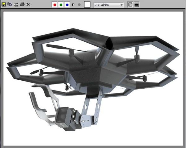 Zbuduj HEX Air Robot dzięki drukarce 3D-4