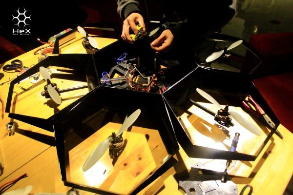 Zbuduj HEX Air Robot dzięki drukarce 3D-6
