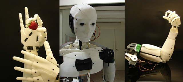 InMoov – niesamowity robot