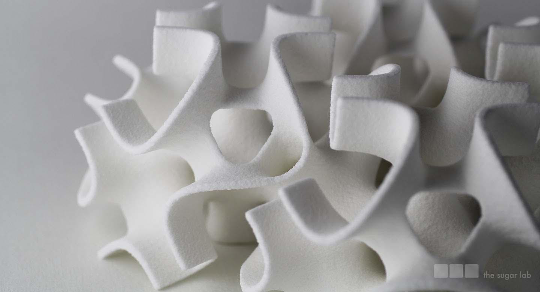 Wydrukowane jadalne rzeźby z cukru-5