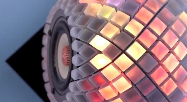 Zrób to sam - święcące głośniki reagujące na dźwięk-3