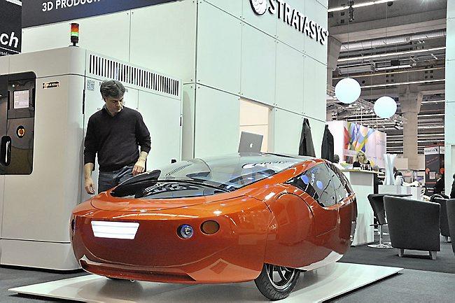 Ekologiczny samochód Urbee