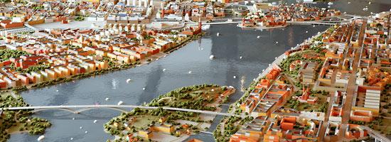 Model miasta Sztokholm1