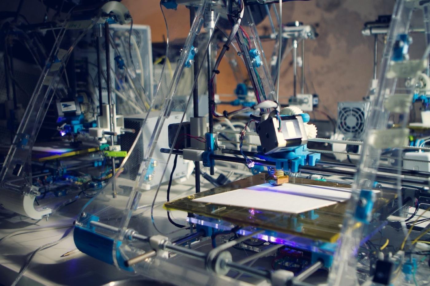Rewelacyjny efekt drukowania 3D i wideo mapowania-3