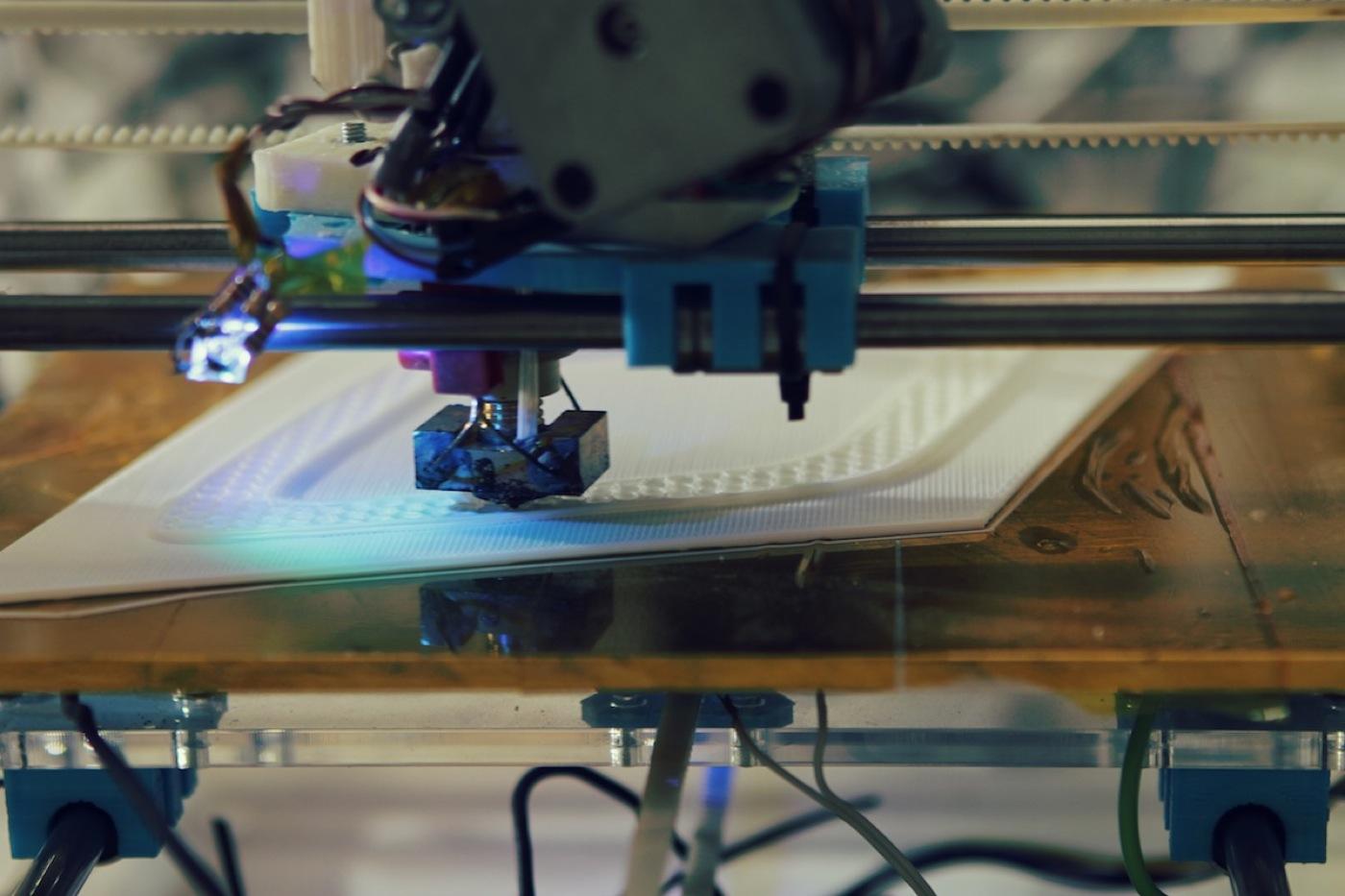 Rewelacyjny efekt drukowania 3D i wideo mapowania-4