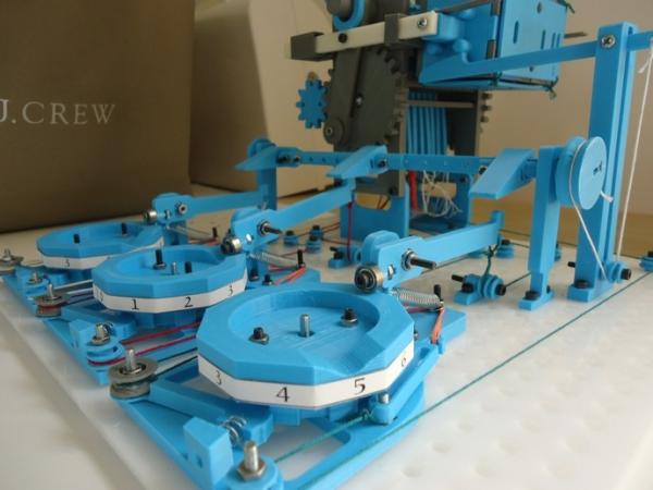 Turbo Entabulator – wydrukowany mechaniczny komputer