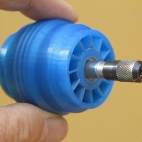 Wydrukowana turbina kręci się z prędkością 60 tys. rpm