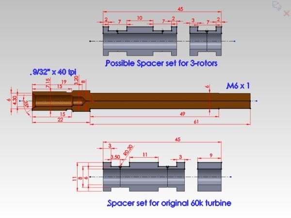Wydrukowana  turbina kręci się z prędkością 60 tys. rpm-4