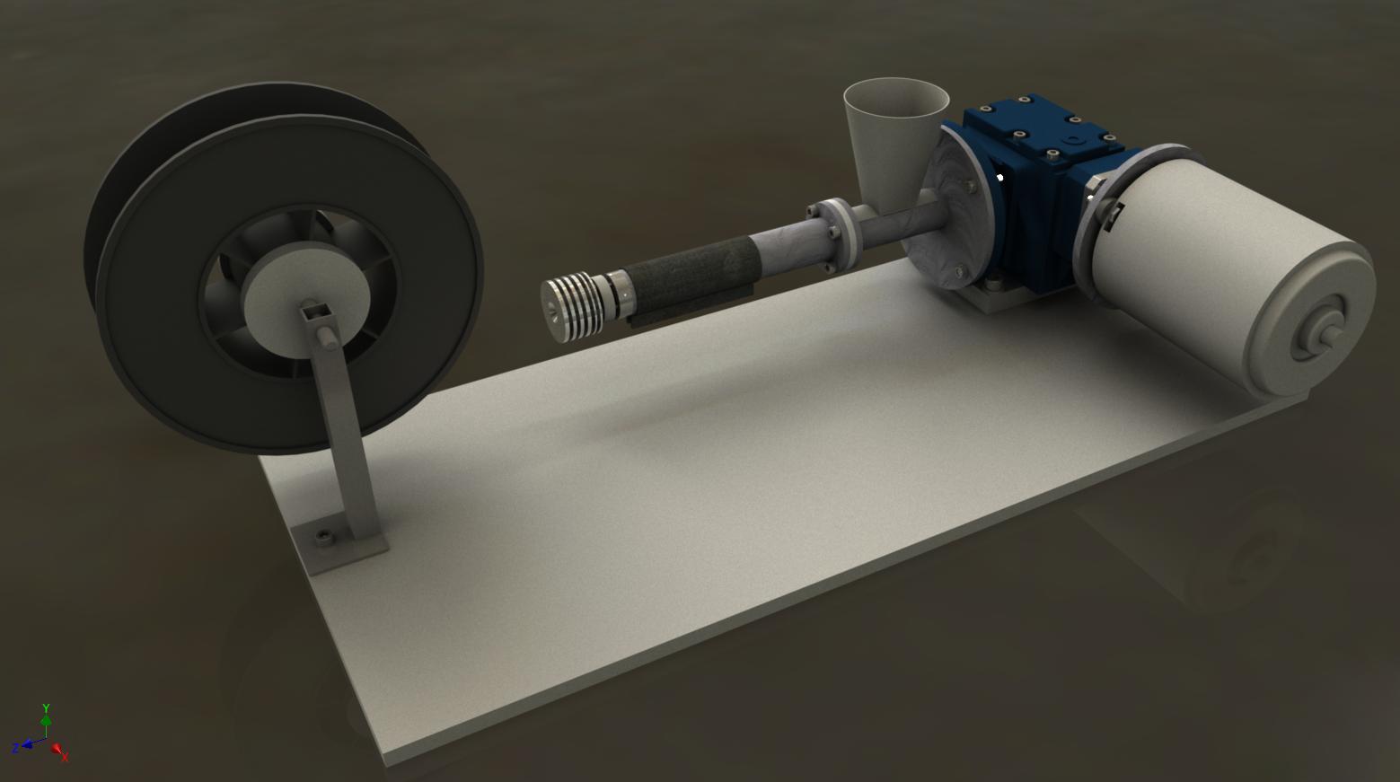 Mój projekt wytłaczarki filamentu dla drukarek 3D w technologii FDM cz. 1