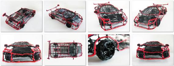 Chiny preze-3ntują kopie 3Doodlera