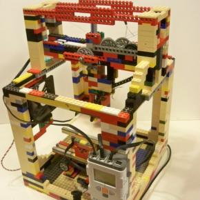 Legobot - drukarka 3D z klocków lego