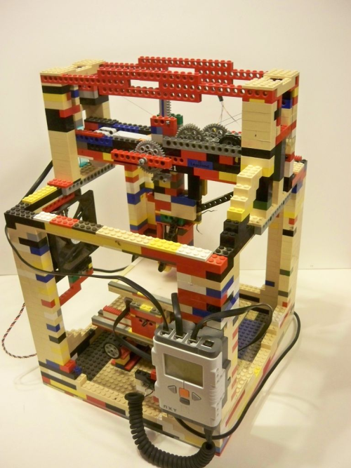 Legobot – drukarka 3D z klocków lego
