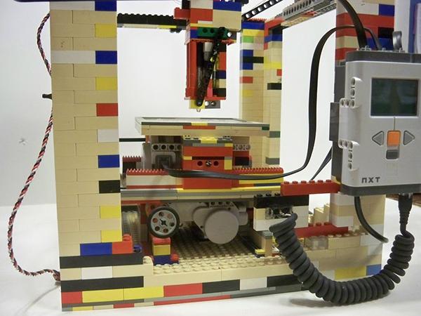 Legobot - drukarka 3D z klocków lego-2