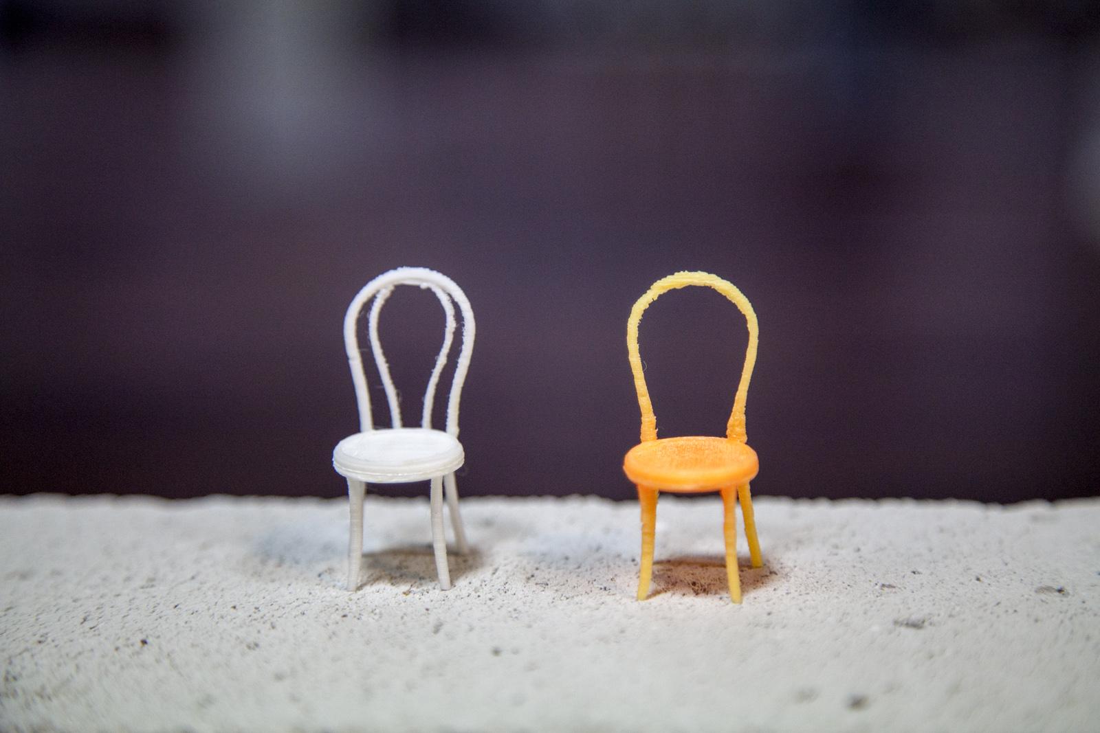 PriPla_mini krzesełka z drukarki 3D_DOMAR
