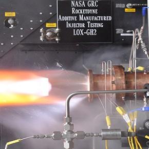Testy drukowanych wtryskiwaczy rakietowych