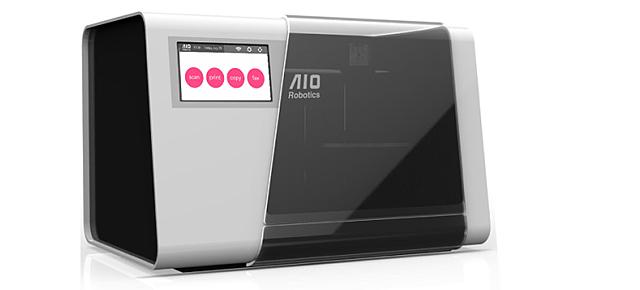 Wszystko w jednym urządzeniu, drukarka i skaner 3D
