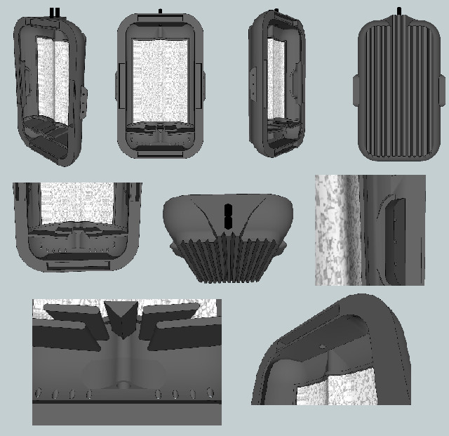 HOG Scrubber – drukowany algowy filtr akwariowy