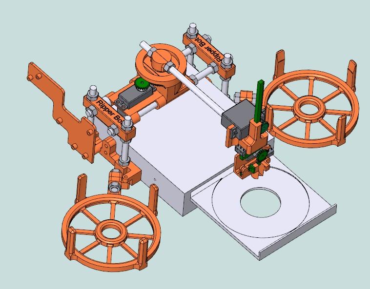 Jack Bot Ripper – wydrukowany robot zmieniający płyty