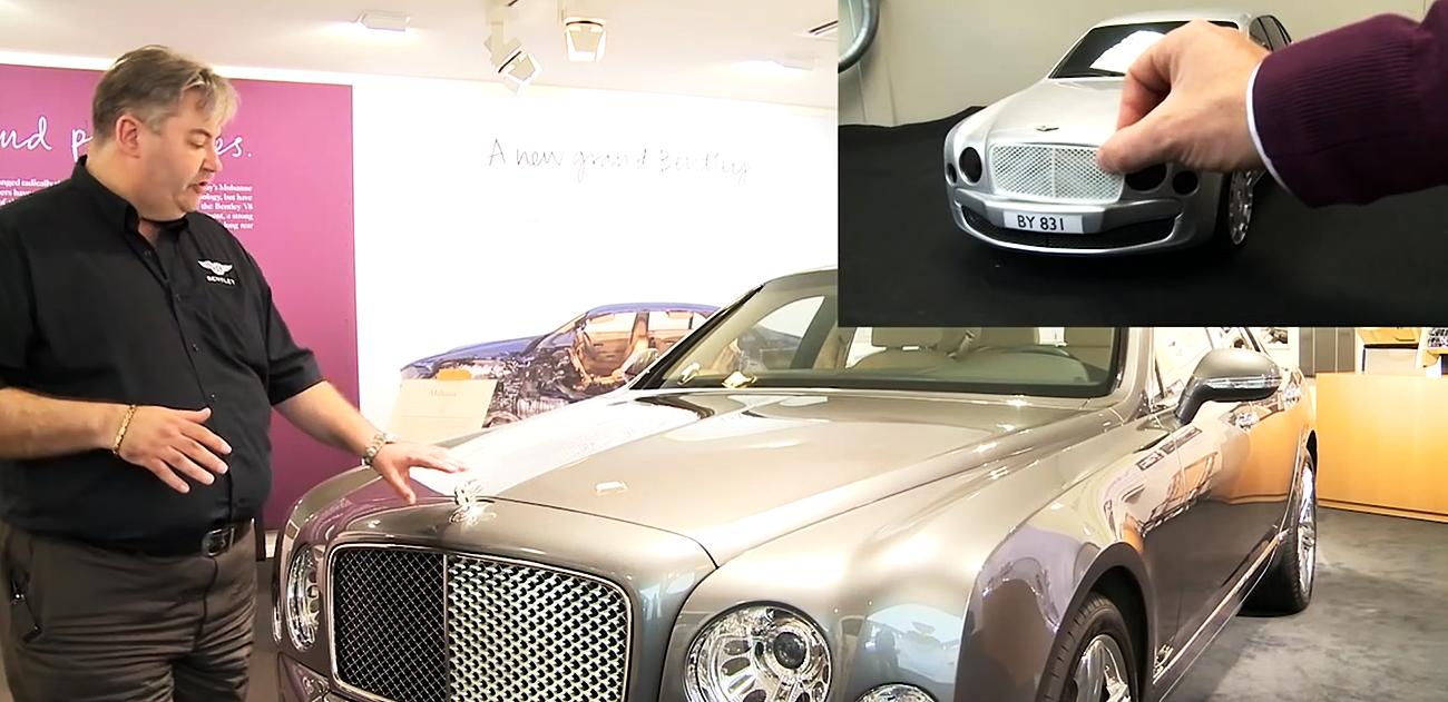 Zobacz do czego Bentley używa druku 3D