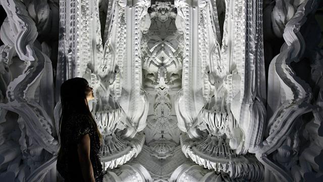 Pokój o wyglądzie katedralnym wydrukowany w 3D-6