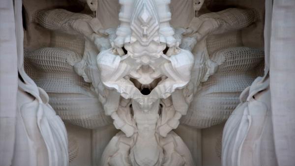 Pokój o wyglądzie katedralnym wydrukowany w 3D-7