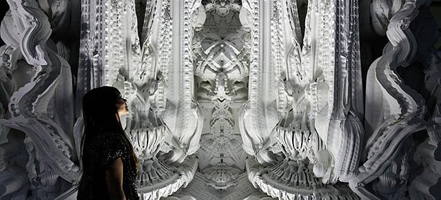Pokój o wyglądzie katedralnym wydrukowany w 3D