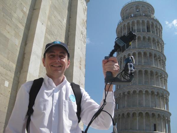 Wnętrze krzywej wieży w Pizie zeskanowane w 3D!-2