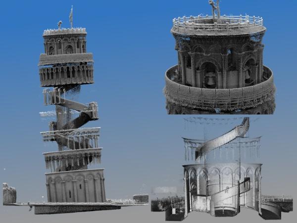 Wnętrze krzywej wieży w Pizie zeskanowane w 3D!-3