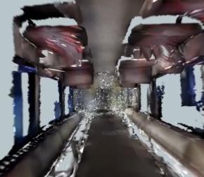 Niecodzienna podróż metrem dzięki skanowaniu 3D