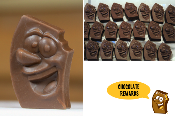 Skanowanie i drukowanie 3D czekoladowych upominków