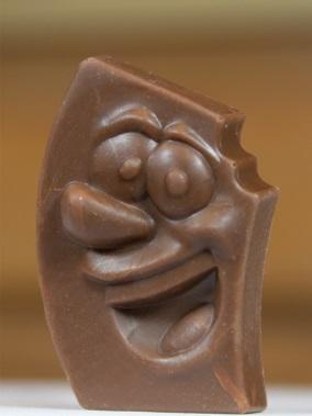 Skanowanie i druk 3D czekoladowych upominków