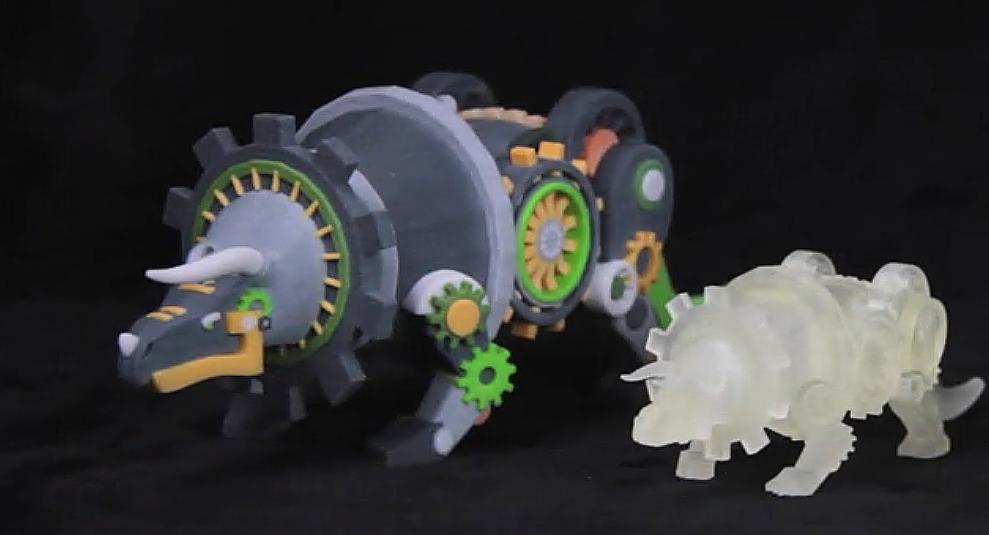 Steampunkowe dinozaury i smoki-4