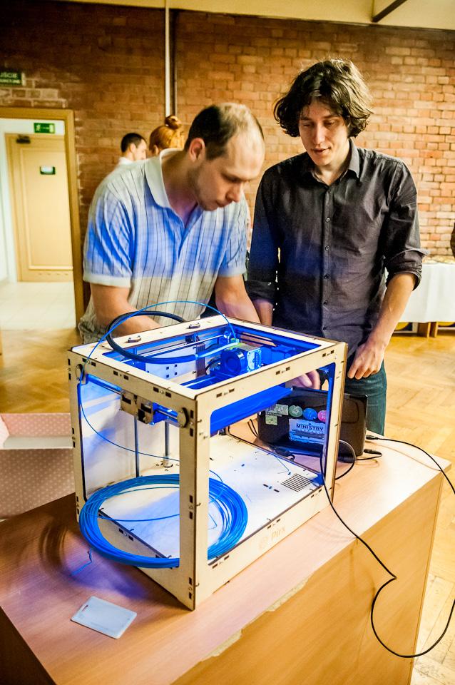 Drukarka 3D na Światowym Tygodniu Przedsiębiorczości