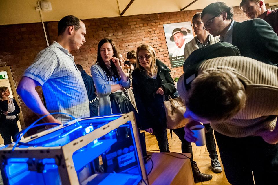 Drukarka 3D na Światowym Tygodniu Przedsiębiorczości9
