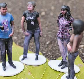 Shapify.me - nowa usługa skanowania 3D przy użyciu kontrolera Kinect