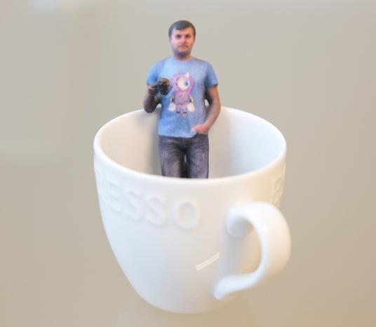 Shapify.me nowa usługa skanowania 3D przy użyciu Kinect-3