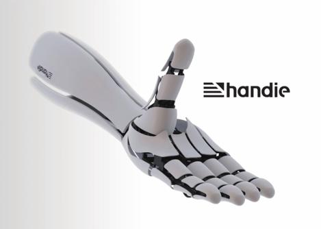 Handie – drukowana proteza sterowana smartfonem