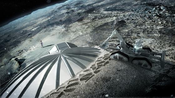 Druk 3D w architekturze  - 5 innowacyjnych projektów, ze świata i … kosmosu5