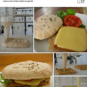 Drukowane cheesburgery, czyli rewolucji kuchennych ciąg dalszy