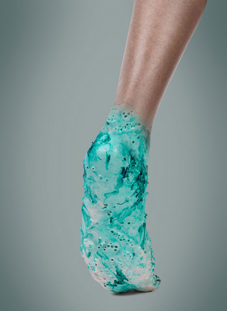 Samonaprawiające się buty do biegania wydrukowane z protokomórek9