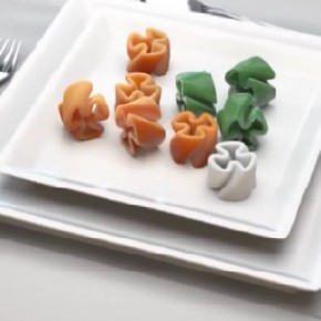 Zaprojektuj własny kształt makaronu