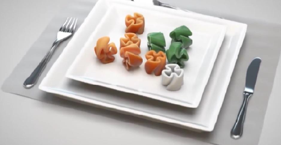 Zaprojektuj własny kształt makaronu w restauracji (2)
