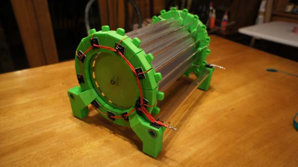 Drukowany silnik elektrostatyczny czyli darmowa energia