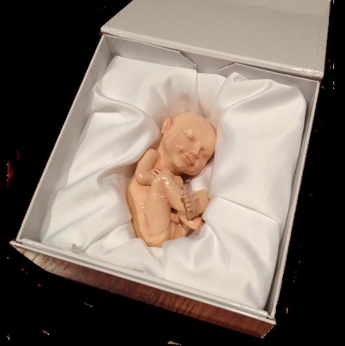 600 $ – tyle zapłacisz za naturalnej wielkości wydrukowane nienarodzone dziecko