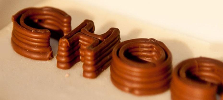 Drukarka 3D drukująca z czekolady dostępna w sprzedaży