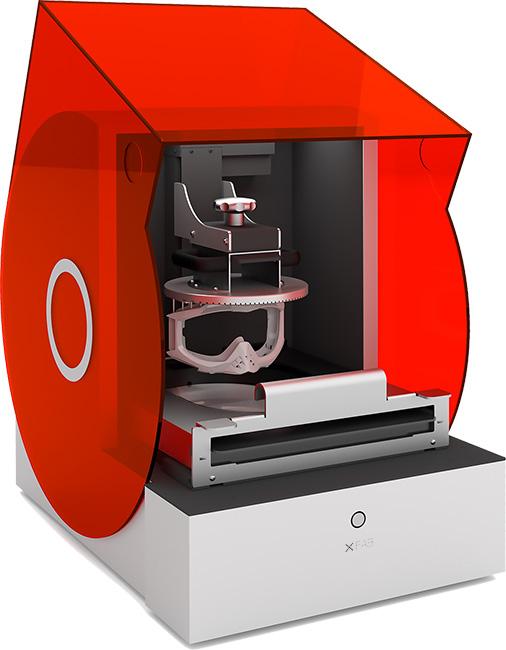 XFAB 3D – domowa laserowa drukarka SLA