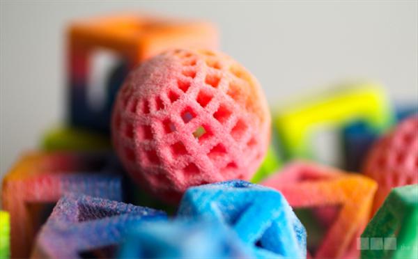 Nietypowe kształty i kolory kostek cukru prosto z drukarki5