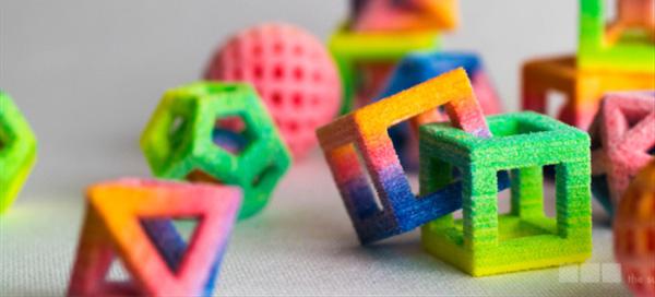 Nietypowe kształty i kolory kostek cukru prosto z drukarki